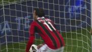 Pazzini con un goal in tap-in pareggia i conti con il Catania