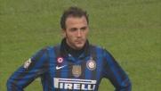 Pazzini esplode il destro, traversa clamorosa contro il Cagliari