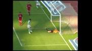 Corradi porta avanti la Lazio nel derby di Roma