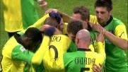 Pellissier anticipa tutti e segna il goal del pareggio contro il Milan
