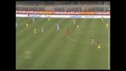 Pellissier con uno stacco imperioso realizza il goal del pareggio tra Chievo e Udinese