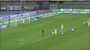 Pellissier realizza su rigore il goal del 2-1 per il Chievo con il Frosinone