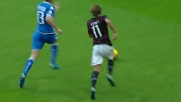 Peluso ferma Cerci con un prodigioso tackle a San Siro