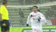 Penalty impeccabile di Barreto: spiazzato Julio Cesar e goal del Bari