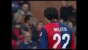 Penalty implacabile di Milito: Genoa avanti sulla Reggina