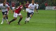 Per i giocatori del Cagliari è impossibile togliere la palla a Robinho
