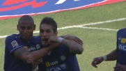 Pereyra a botta sicura segna il goal del vantaggio dell'Udinese