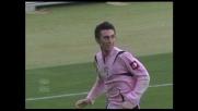 Perfetto goal di testa, Caracciolo segna l'1-0 del Palermo sull'Udinese