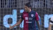 Pericoloso cross di Borriello, la Roma rischia contro il Cagliari