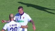 Perla di Bernardeschi a Cagliari: goal del 3-1 della Fiorentina!