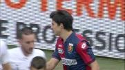 Perotti con una serie di dribbling crea il panico nella difesa del Verona