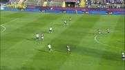 Perotti sceglie il primo palo e infila Mirante: Genoa in vantaggio al Tardini