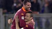 Perrotta e il goal che chiude la partita contro il Genoa