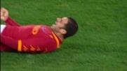 Perrotta goal, la Roma vola contro il Cagliari