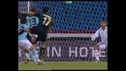 Peruzzi e la traversa negano il goal a Di Michele
