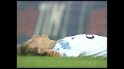 Peruzzi è provvidenziale in uscita su Nedved nel match tra Lazio e Inter