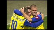 Pellissier sblocca il risultato contro il Milan a San Siro