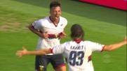 Simeone firma la vittoria del Genoa a Bologna