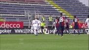 Pinilla con uno splendido destro segna il primo goal alla Fiorentina