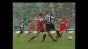 Pinzi cerca il goal capolavoro, ma Marcon chiude lo specchio della porta