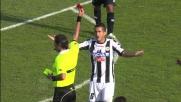 Pinzi commette fallo su Bonaventura e l'arbitro lo espelle