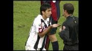 Pinzi ostacola Esposito: doppio giallo e rosso per il giocatore dell'Udinese