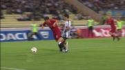 Pinzi sgambetta Pizarro, la Roma conquista un calcio di rigore contro l'Udinese