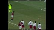 Pirlo raddoppia su rigore contro il Perugia