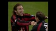 Pirlo realizza il goal vittoria sulla Lazio