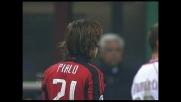Pirlo ristabilisce la parità su rigore tra Milan e Livorno