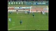 Pirlo serve Baggio che calcia al volo e sfiora il goal