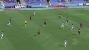 Pisacane stende Gomez: rigore per l'Atalanta