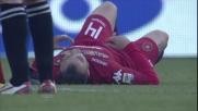 Pisano abbattuto durante Parma-Cagliari
