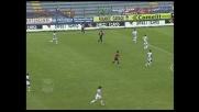 Pisano non aggancia il lancio di Suazo contro l'Udinese