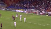 A Marassi Lodi realizza il goal dal dischetto contro la Fiorentina