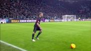 Pogba sradica la palla dai piedi di Kucka