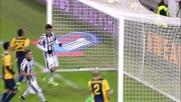 Poker della Juventus e secondo goal di Tevez contro l'Hellas
