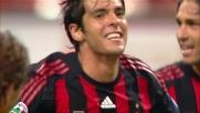 Poker di goal per il Milan. Kakà firma il 4-1 sulla Lazio che manda in visibilio San Siro
