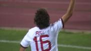 Poli porta in vantaggio il Milan a Bologna con un bel diagonale