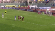 Pozzi trasforma con brivido dal dischetto il goal vittoria a Livorno