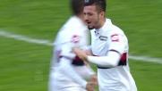 Primo goal in Serie A di Armando Izzo a San Siro
