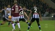 Prodezza di Ljajic: il Torino agguanta il pari contro l'Udinese