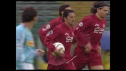 Protti segna dal dischetto contro la Lazio