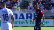 Punizione deviata e insidiosa, il tentativo di Bruno Alves contro la Fiorentina