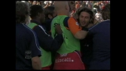 Punizione di Conti e il Cagliari fa festa contro la Sampdoria