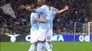 Punizione magistrale di Hernanes all' Olimpico di Roma contro l'Udinese
