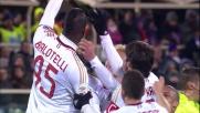 Punizione perfetta di Balotelli che punisce la Fiorentina al Franchi