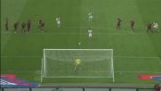 Nené segna dal dischetto il goal della vittoria del Cagliari a Torino