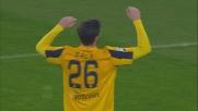Strepitoso salvataggio sulla linea di Jacopo Sala nel match tra Verona e Sassuolo