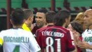 De Sciglio entra in tackle sulle gambe di Sansone e viene espulso
